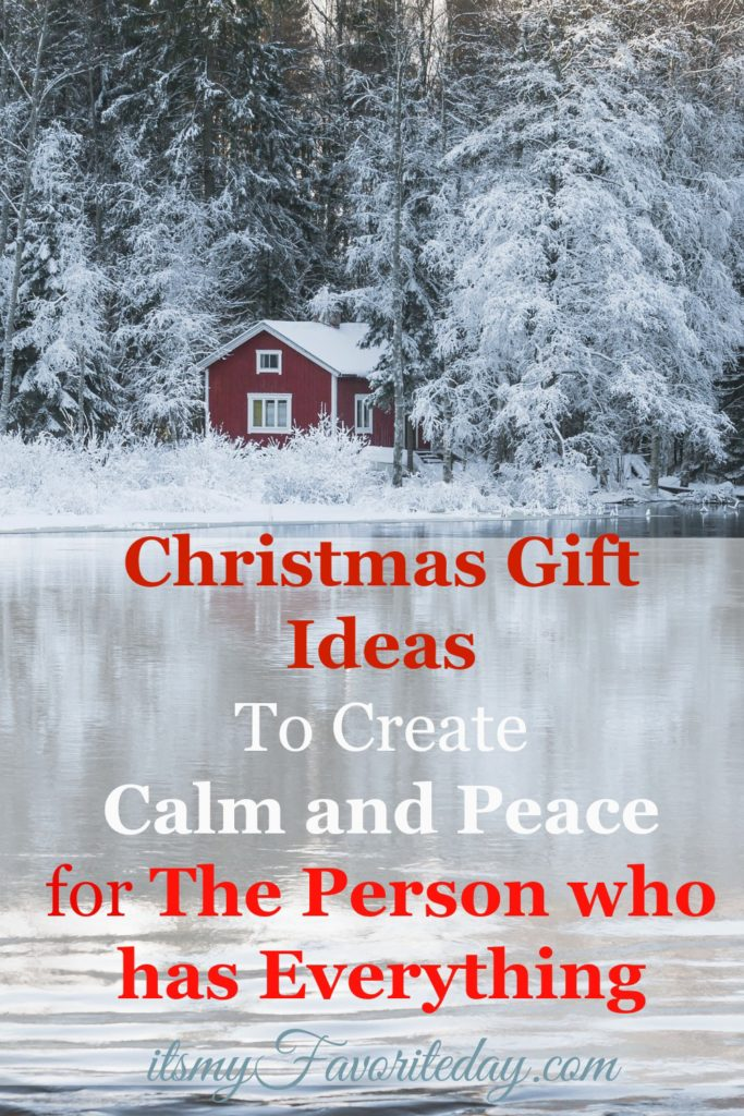 Christmas Gift Ideas for The Person who has Everything ...